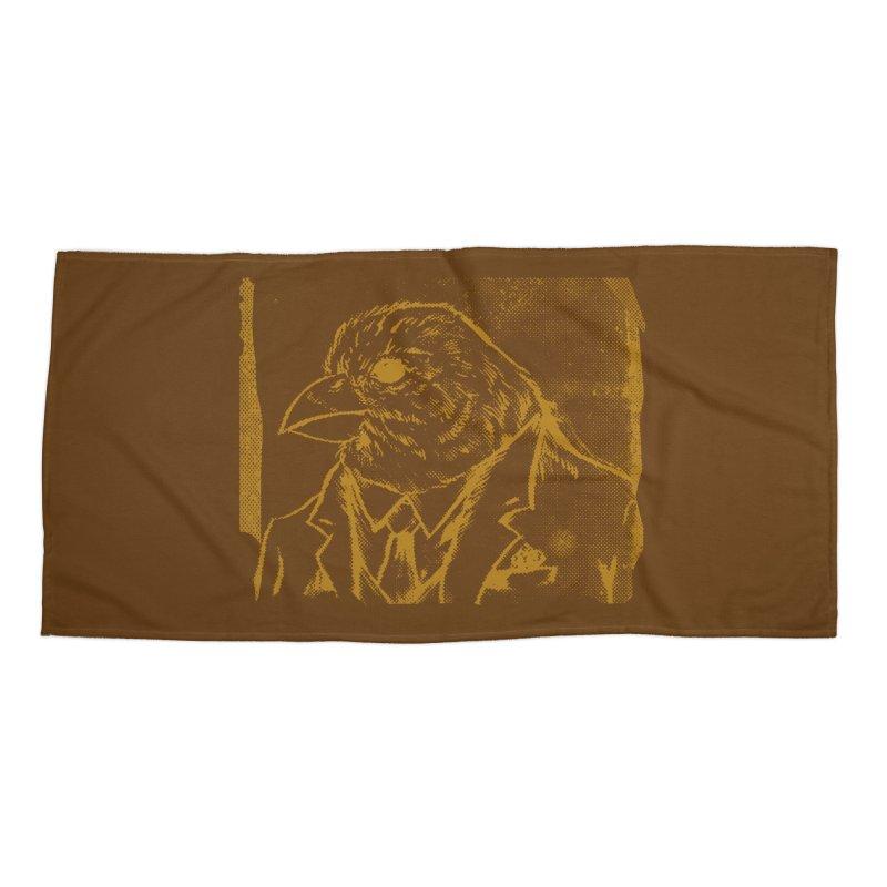 Dapper Finch Accessories Beach Towel by Zerostreet's Artist Shop