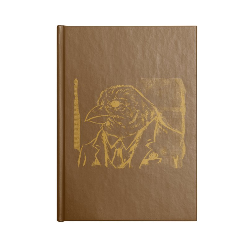Dapper Finch Accessories Notebook by Zerostreet's Artist Shop