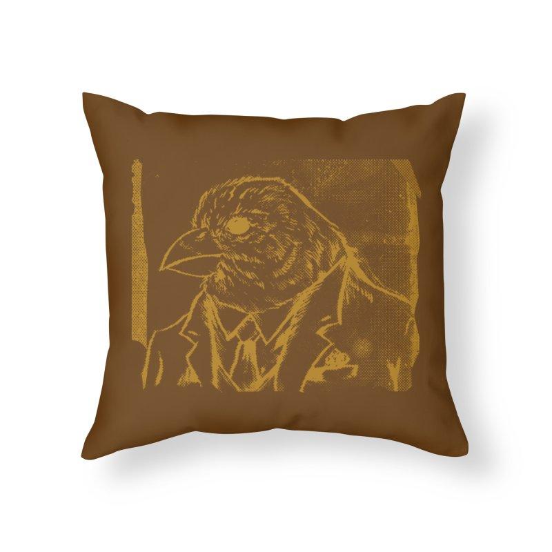 Dapper Finch Home Throw Pillow by Zerostreet's Artist Shop