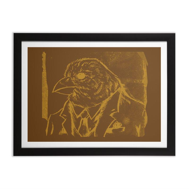 Dapper Finch Home Framed Fine Art Print by Zerostreet's Artist Shop