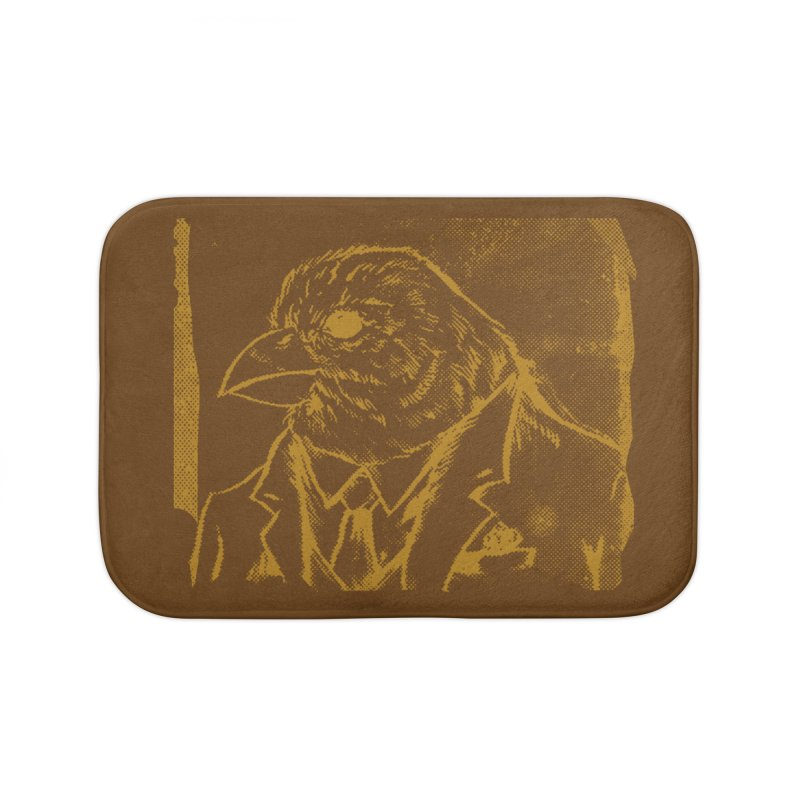 Dapper Finch Home Bath Mat by Zerostreet's Artist Shop