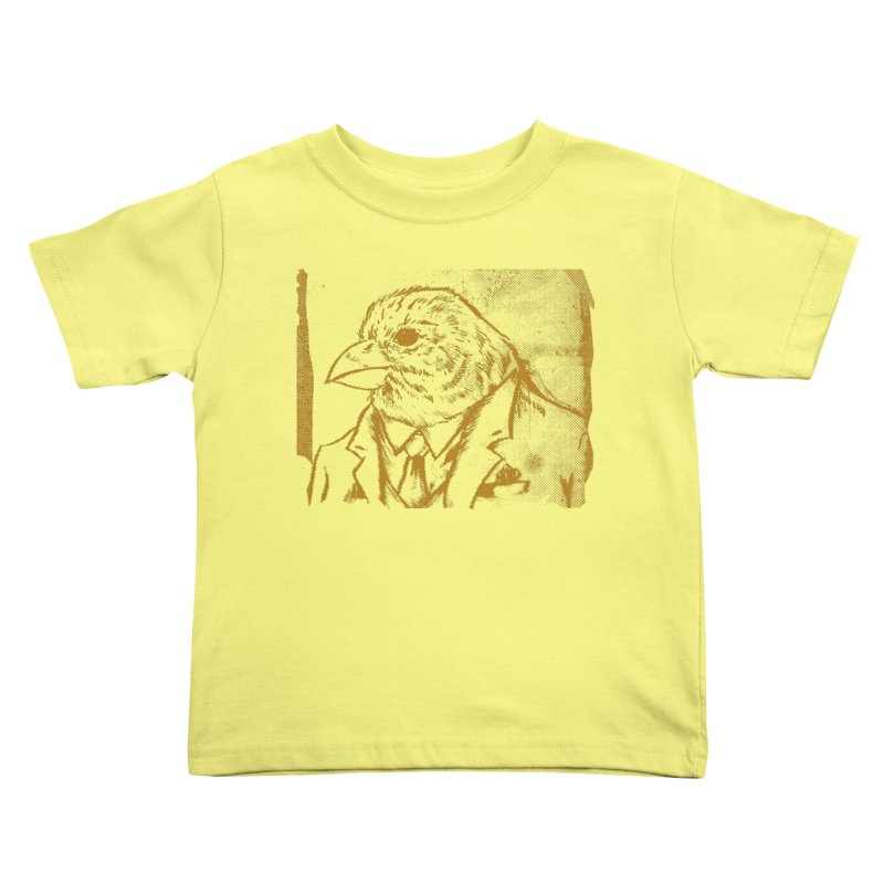 Dapper Finch Kids Toddler T-Shirt by Zerostreet's Artist Shop