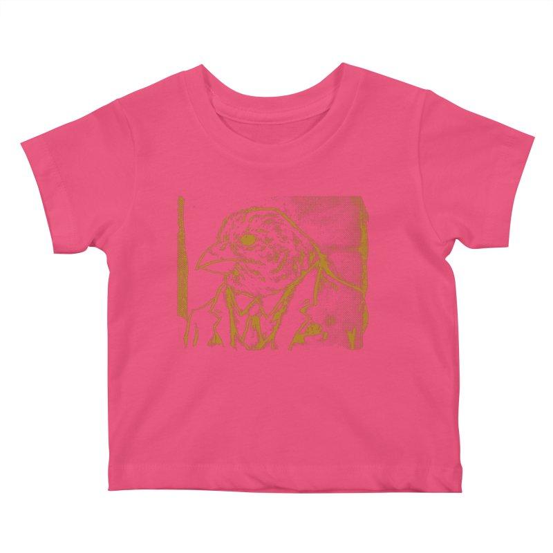 Dapper Finch Kids Baby T-Shirt by Zerostreet's Artist Shop