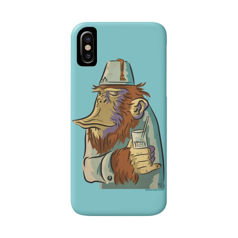 Spence The Chimp Accessories Phone Case by Zerostreet's Artist Shop
