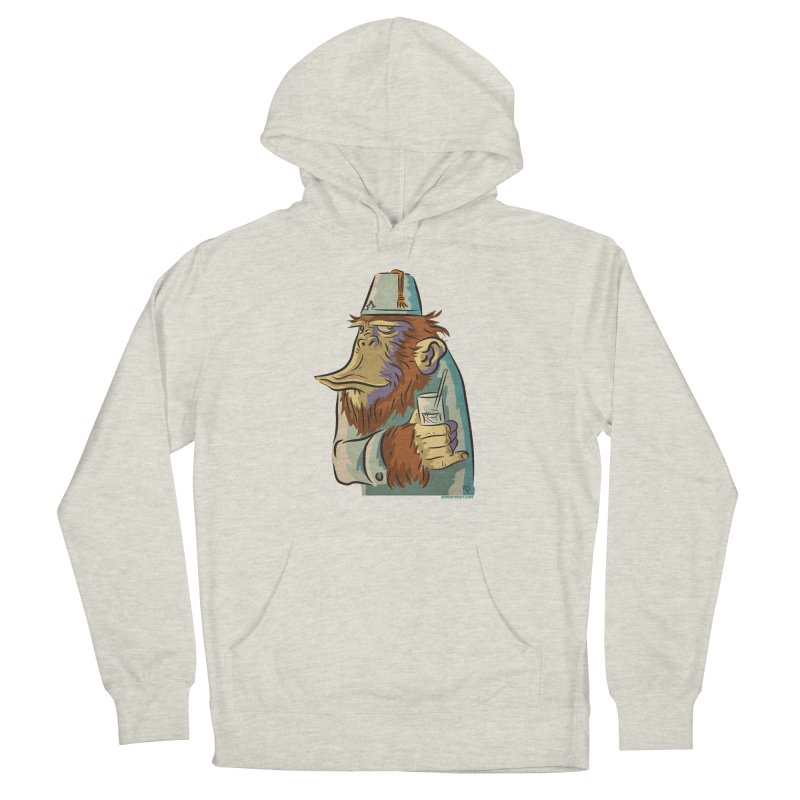 Spence The Chimp Men's French Terry Pullover Hoody by Zerostreet's Artist Shop