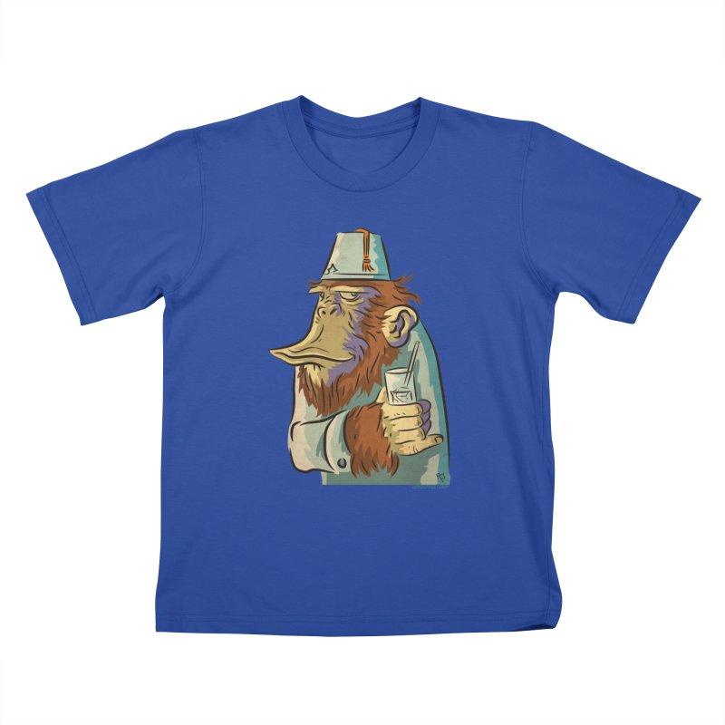 Spence The Chimp Kids T-Shirt by Zerostreet's Artist Shop