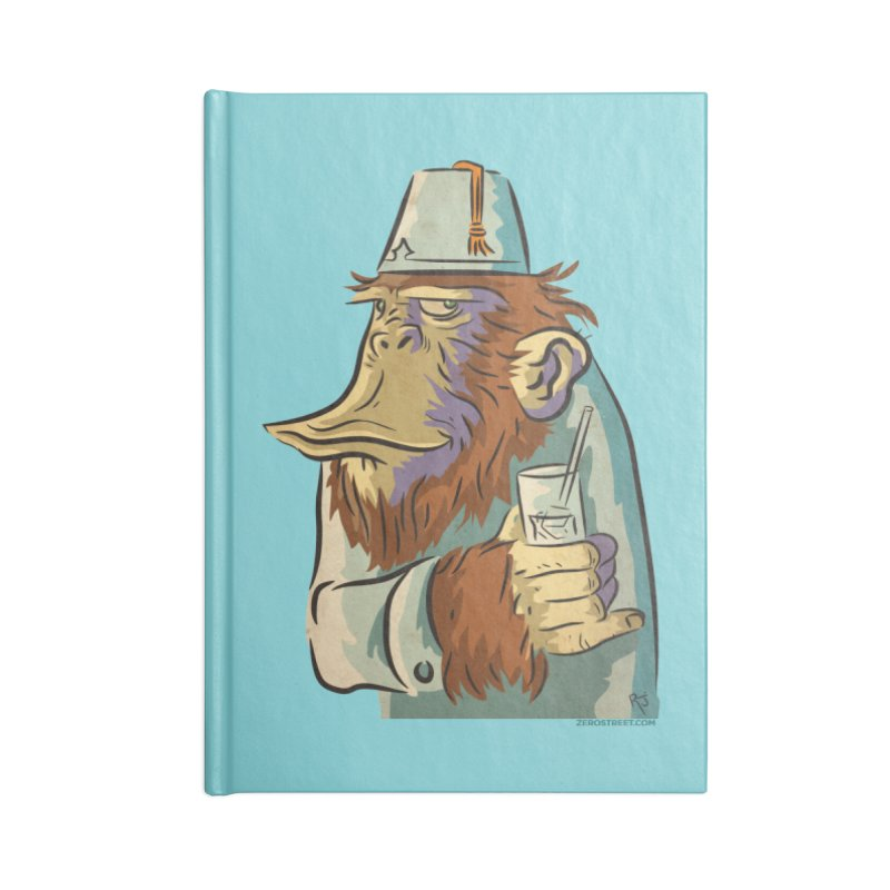 Spence The Chimp Accessories Notebook by Zerostreet's Artist Shop