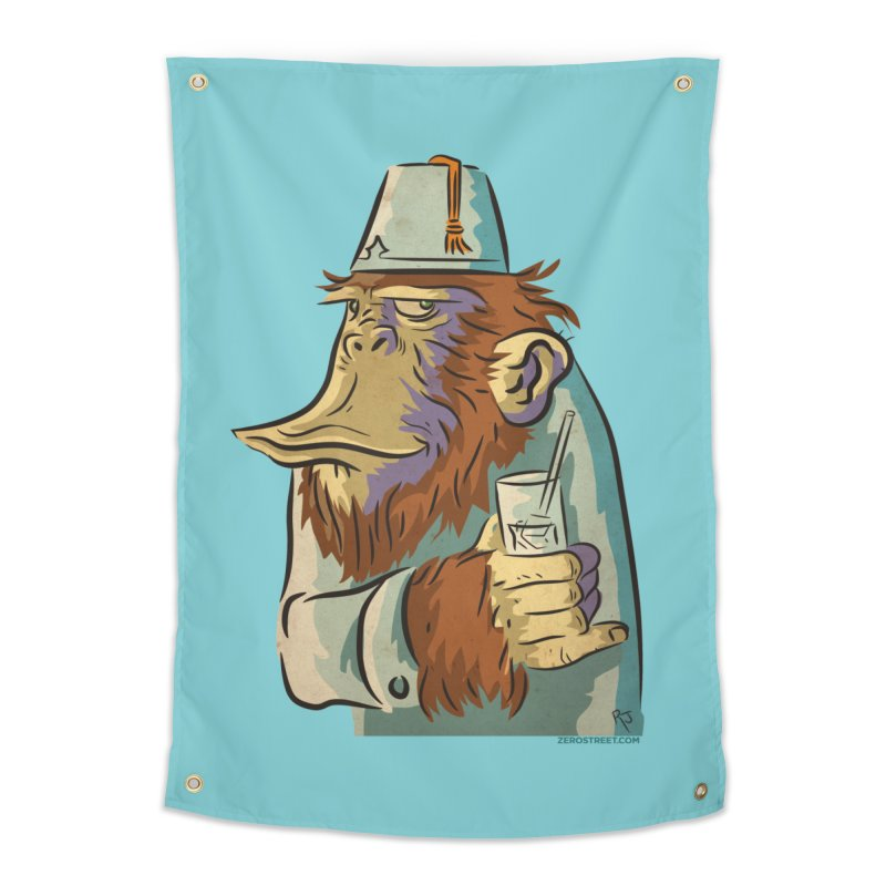 Spence The Chimp Home Tapestry by Zerostreet's Artist Shop