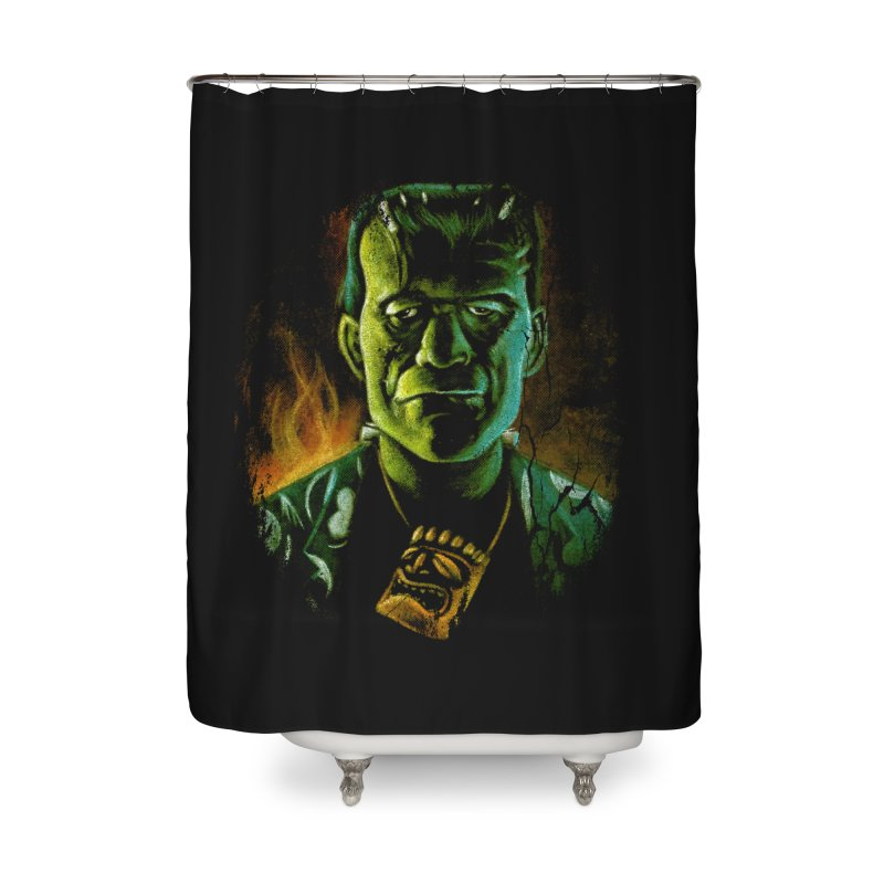 Party Monster Home Shower Curtain by Zerostreet's Artist Shop