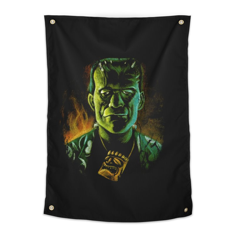 Party Monster Home Tapestry by Zerostreet's Artist Shop