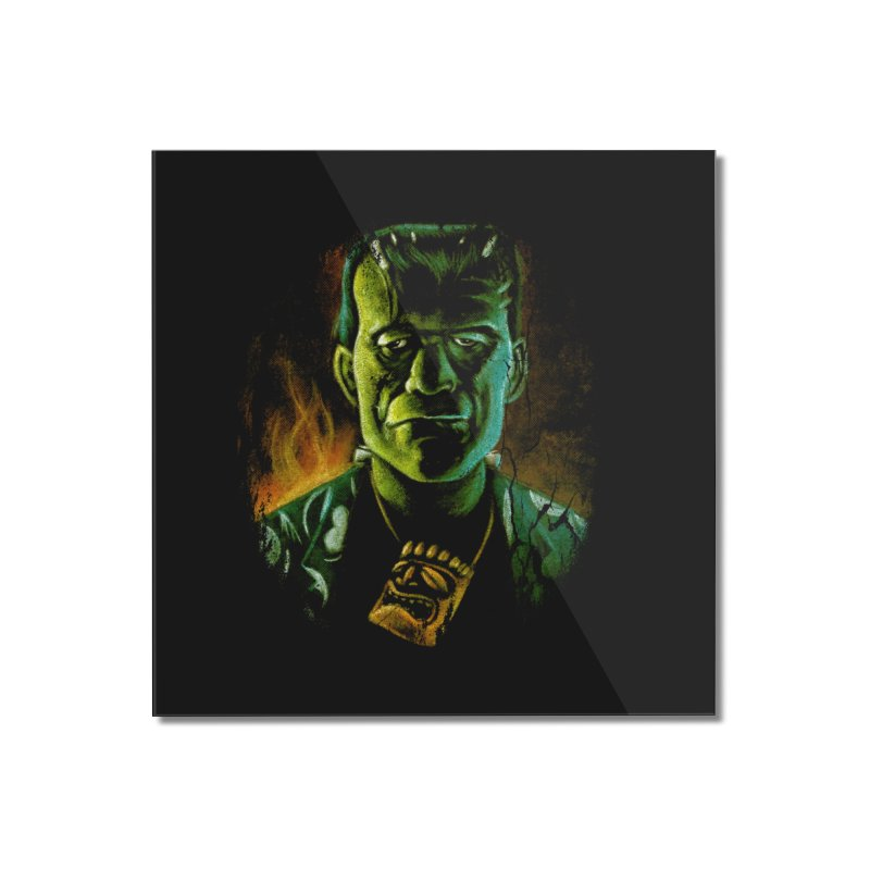 Party Monster Home Mounted Acrylic Print by Zerostreet's Artist Shop