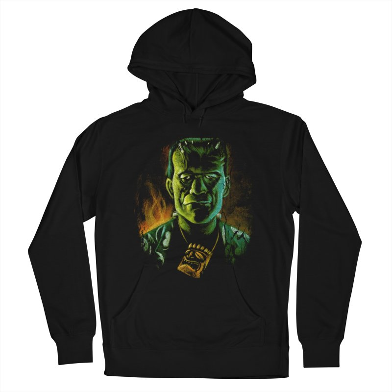 Party Monster Men's French Terry Pullover Hoody by Zerostreet's Artist Shop