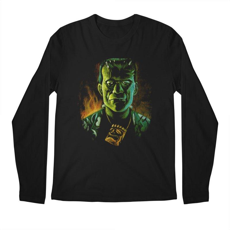 Party Monster Men's Regular Longsleeve T-Shirt by Zerostreet's Artist Shop