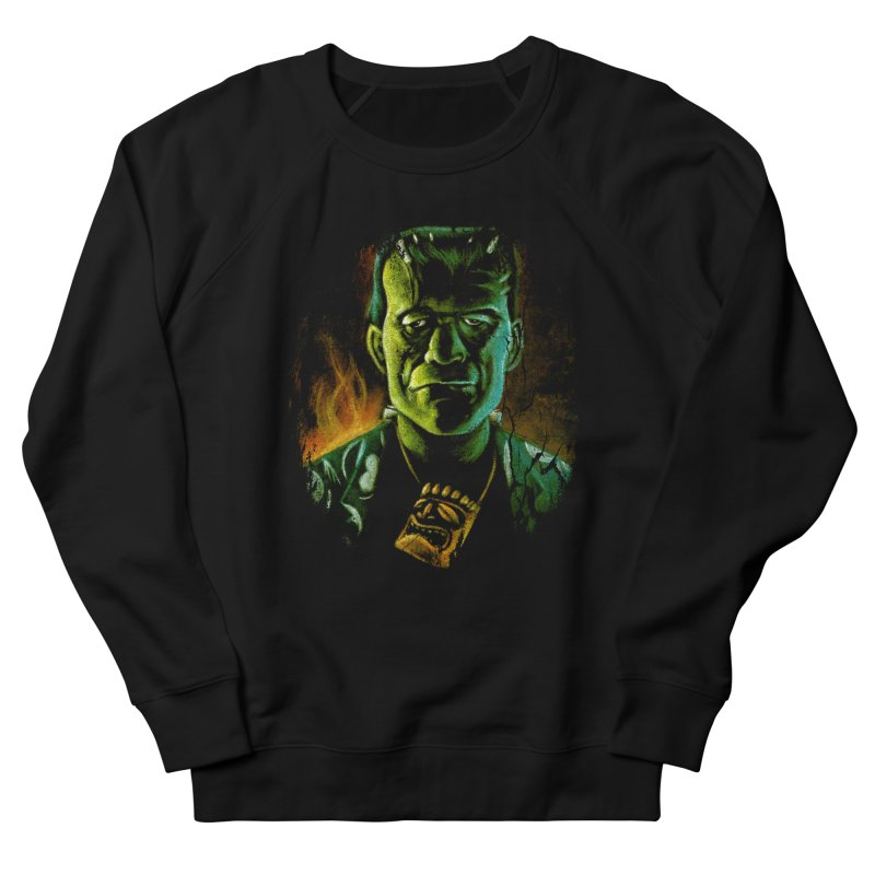 Party Monster Men's French Terry Sweatshirt by Zerostreet's Artist Shop