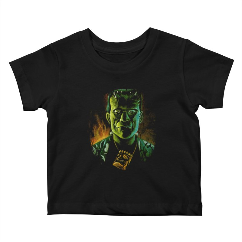 Party Monster Kids Baby T-Shirt by Zerostreet's Artist Shop