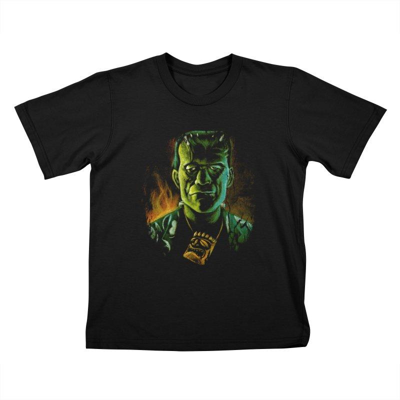 Party Monster Kids T-Shirt by Zerostreet's Artist Shop