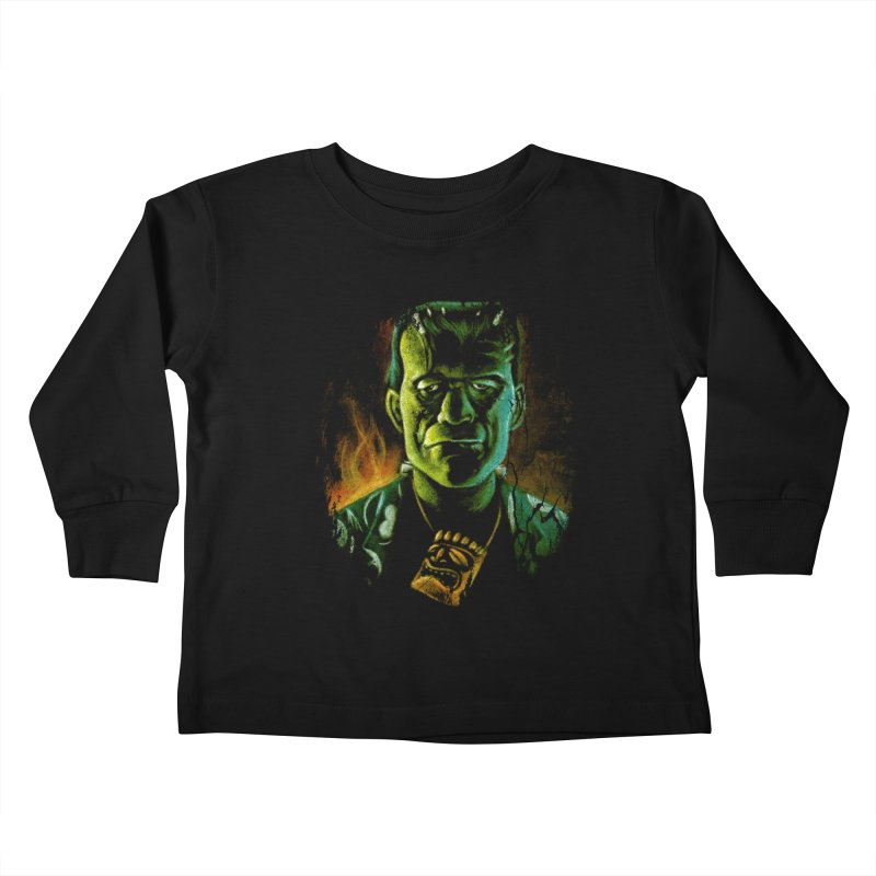 Party Monster Kids Toddler Longsleeve T-Shirt by Zerostreet's Artist Shop
