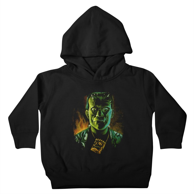 Party Monster Kids Toddler Pullover Hoody by Zerostreet's Artist Shop