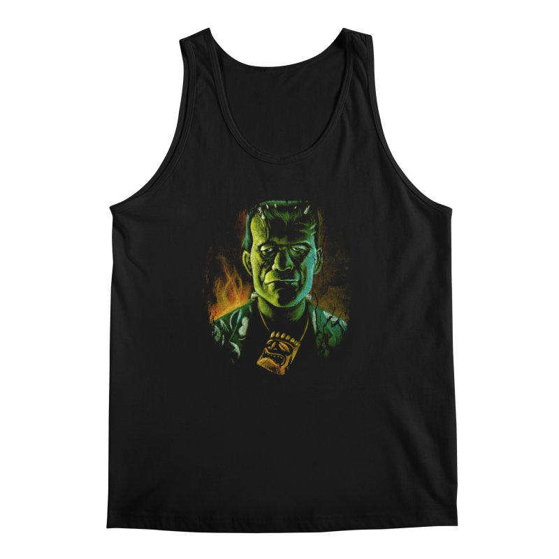 Party Monster Men's Regular Tank by Zerostreet's Artist Shop