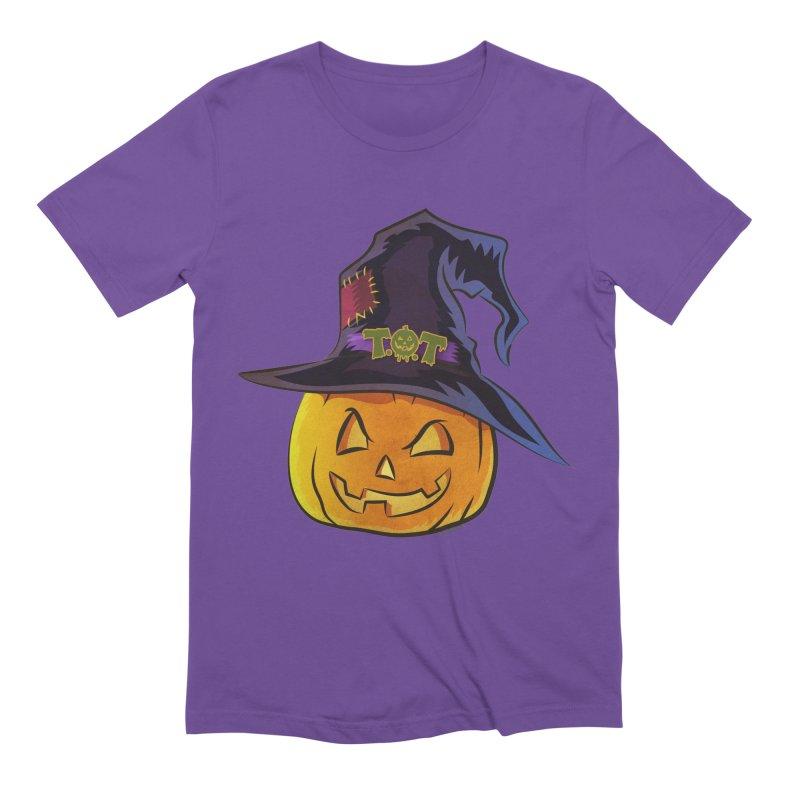 Trick Or Treat Pumpkin Men's Extra Soft T-Shirt by Zerostreet's Artist Shop