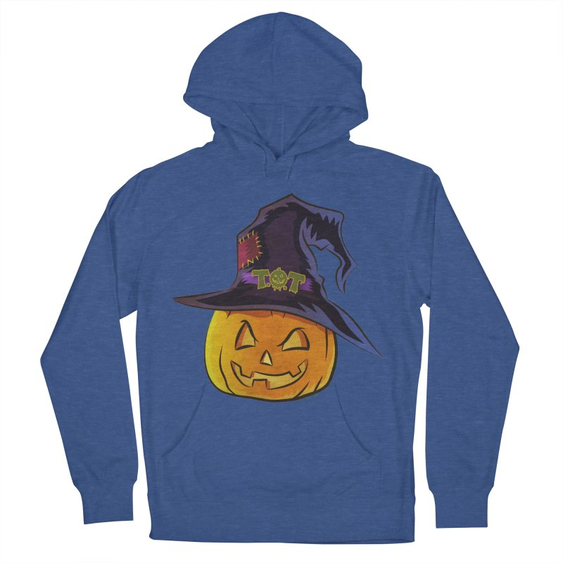 Trick Or Treat Pumpkin Men's French Terry Pullover Hoody by Zerostreet's Artist Shop
