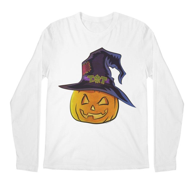 Trick Or Treat Pumpkin Men's Regular Longsleeve T-Shirt by Zerostreet's Artist Shop