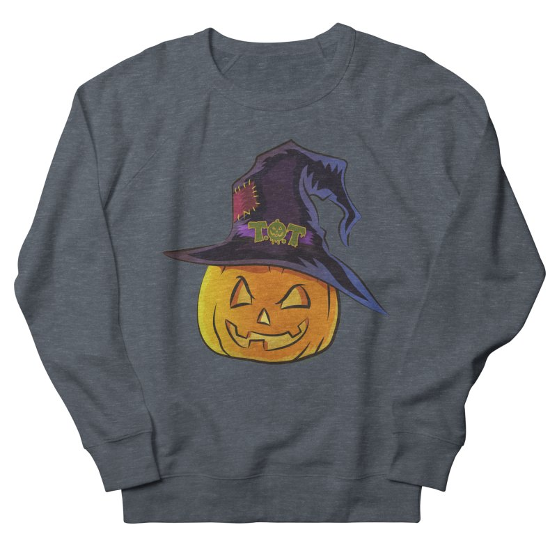 Trick Or Treat Pumpkin Women's French Terry Sweatshirt by Zerostreet's Artist Shop