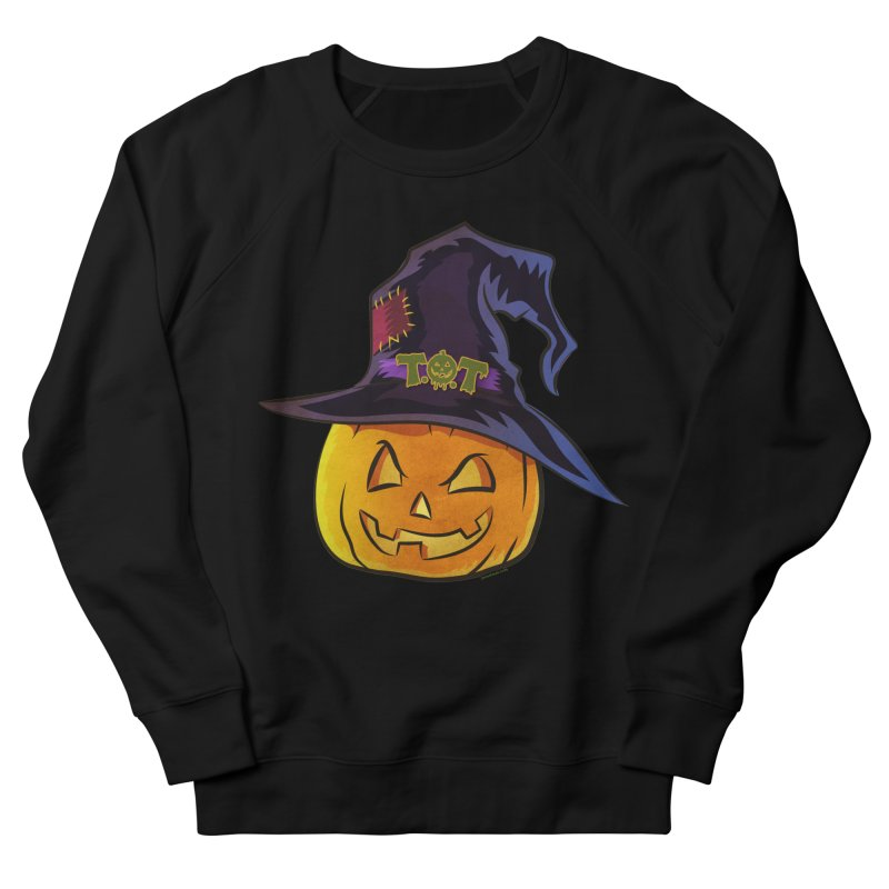 Trick Or Treat Pumpkin Men's French Terry Sweatshirt by Zerostreet's Artist Shop