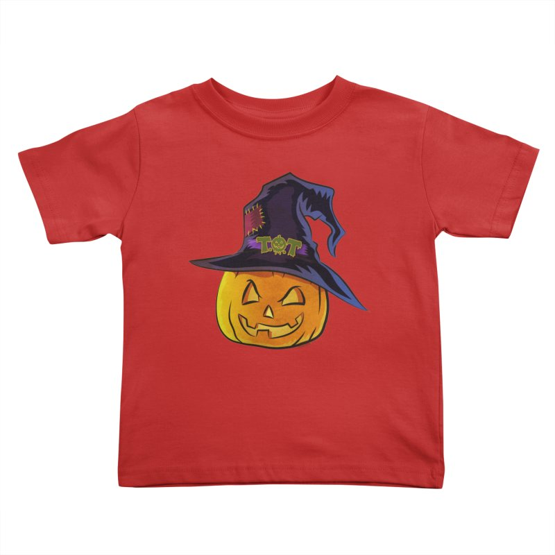 Trick Or Treat Pumpkin Kids Toddler T-Shirt by Zerostreet's Artist Shop