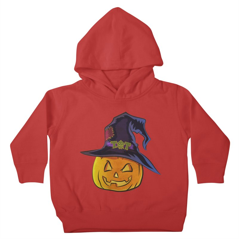 Trick Or Treat Pumpkin Kids Toddler Pullover Hoody by Zerostreet's Artist Shop