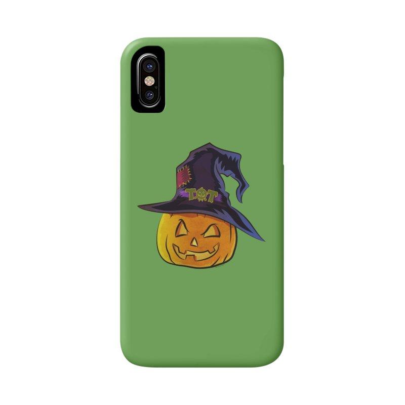 Trick Or Treat Pumpkin Accessories Phone Case by Zerostreet's Artist Shop