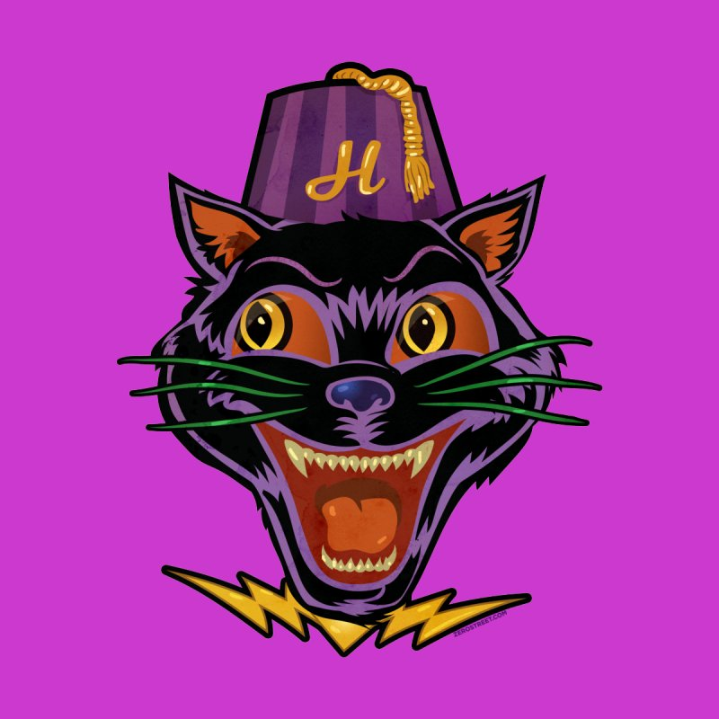 Chester The Cat by Zero Street's Artist Shop