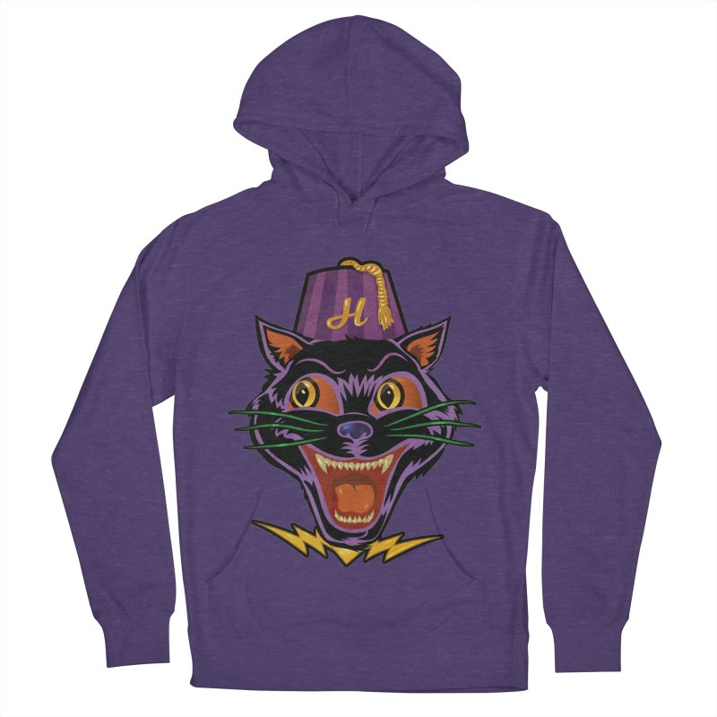 Chester The Cat Men's French Terry Pullover Hoody by Zerostreet's Artist Shop