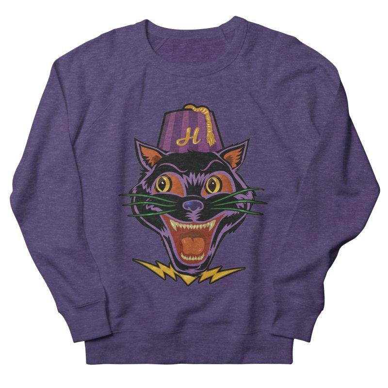 Chester The Cat Women's French Terry Sweatshirt by Zerostreet's Artist Shop