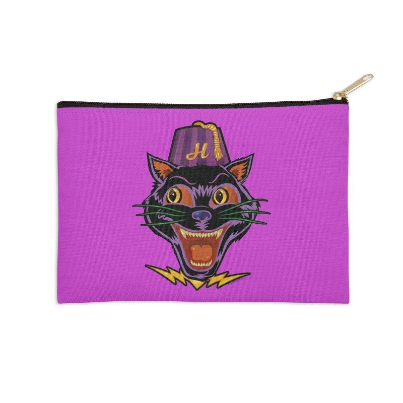 Chester The Cat Accessories Zip Pouch by Zerostreet's Artist Shop