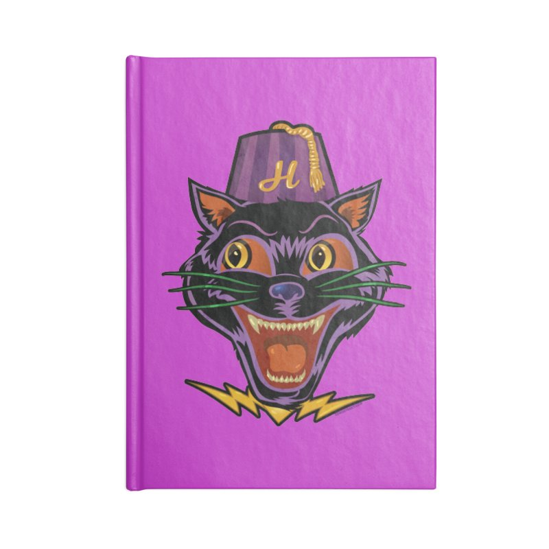 Chester The Cat Accessories Notebook by Zerostreet's Artist Shop