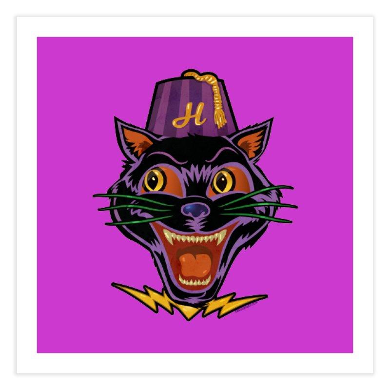 Chester The Cat Home Fine Art Print by Zerostreet's Artist Shop