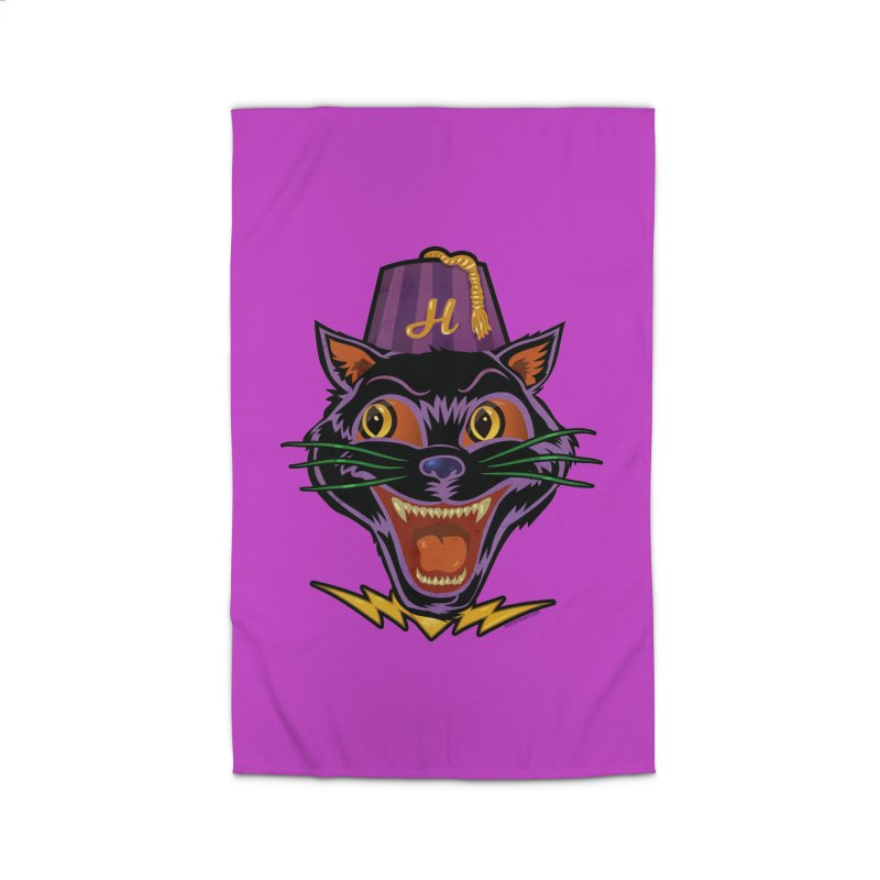 Chester The Cat Home Rug by Zerostreet's Artist Shop