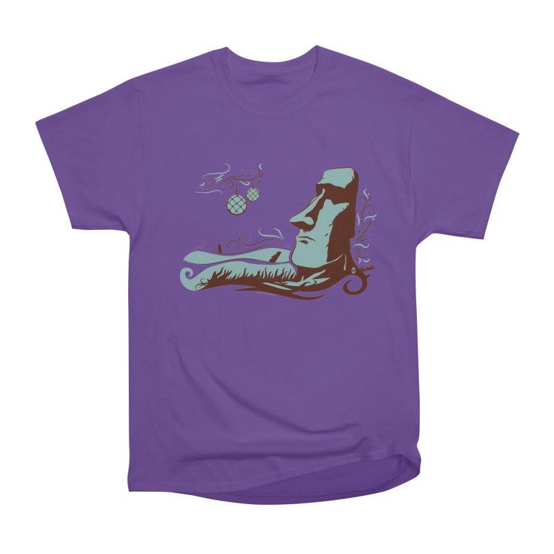 Moai Women's Classic Unisex T-Shirt by Zerostreet's Artist Shop