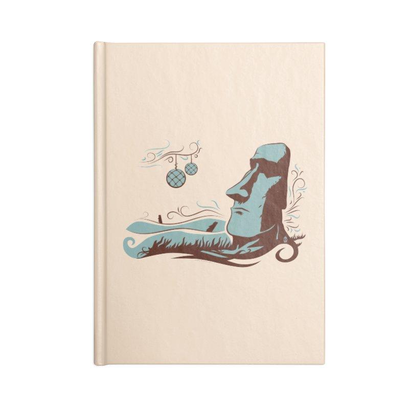 Moai  Accessories Notebook by Zerostreet's Artist Shop