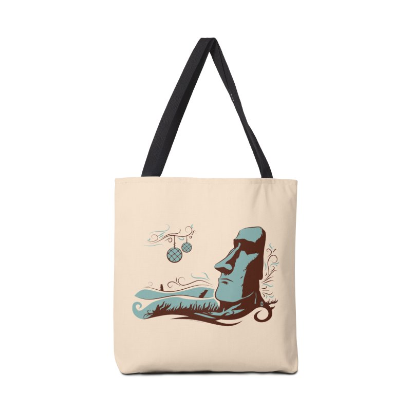 Moai  Accessories Bag by Zerostreet's Artist Shop