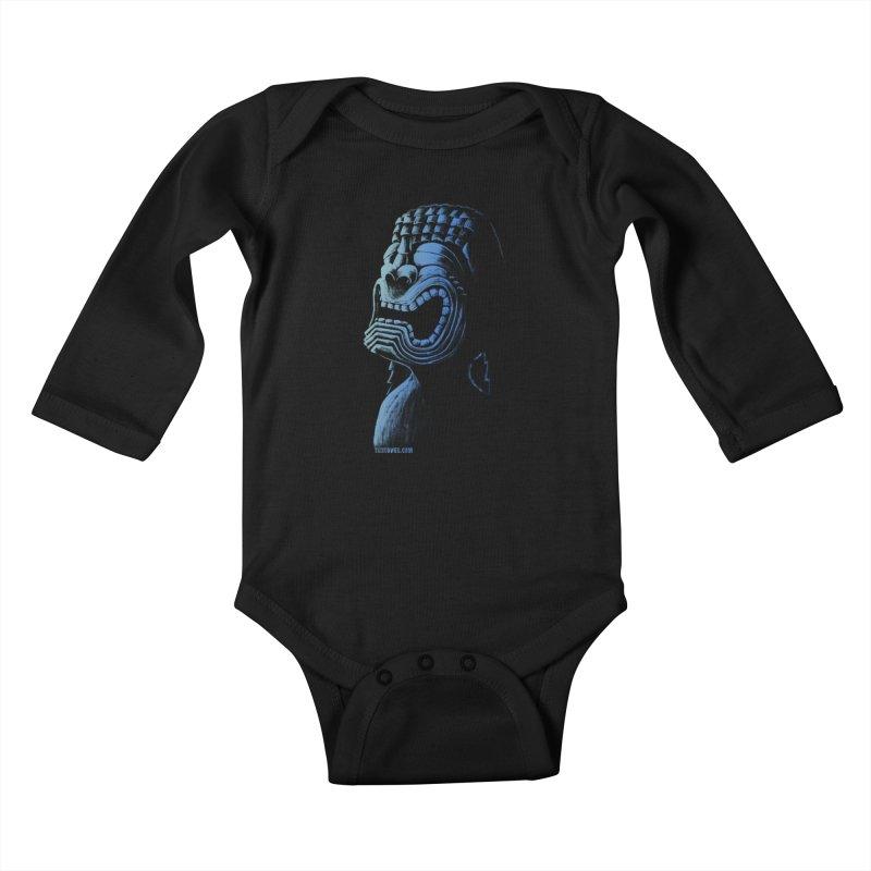 KU Kids Baby Longsleeve Bodysuit by Zerostreet's Artist Shop