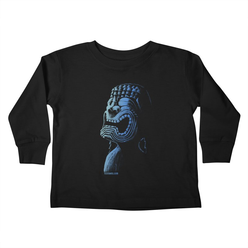 KU Kids Toddler Longsleeve T-Shirt by Zerostreet's Artist Shop