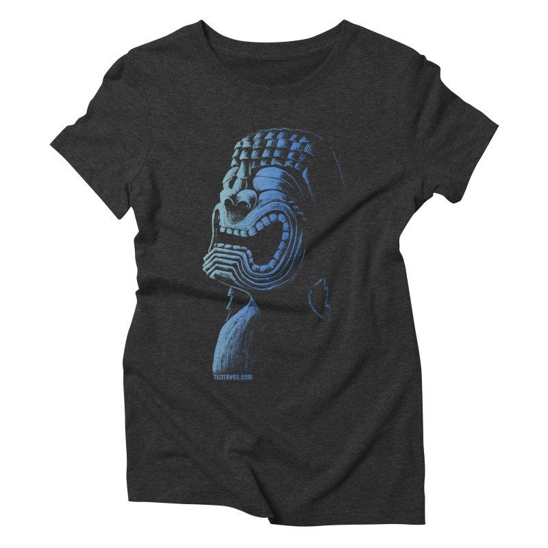 KU Women's Triblend T-Shirt by Zerostreet's Artist Shop