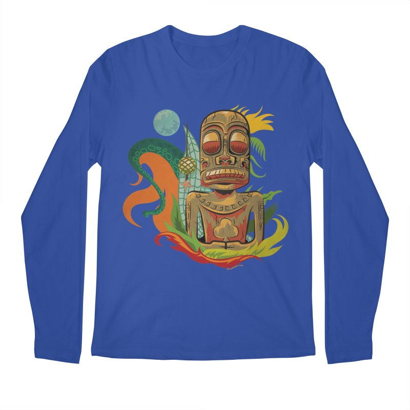 Tikilandia Jack of Clubs Men's Regular Longsleeve T-Shirt by Zerostreet's Artist Shop