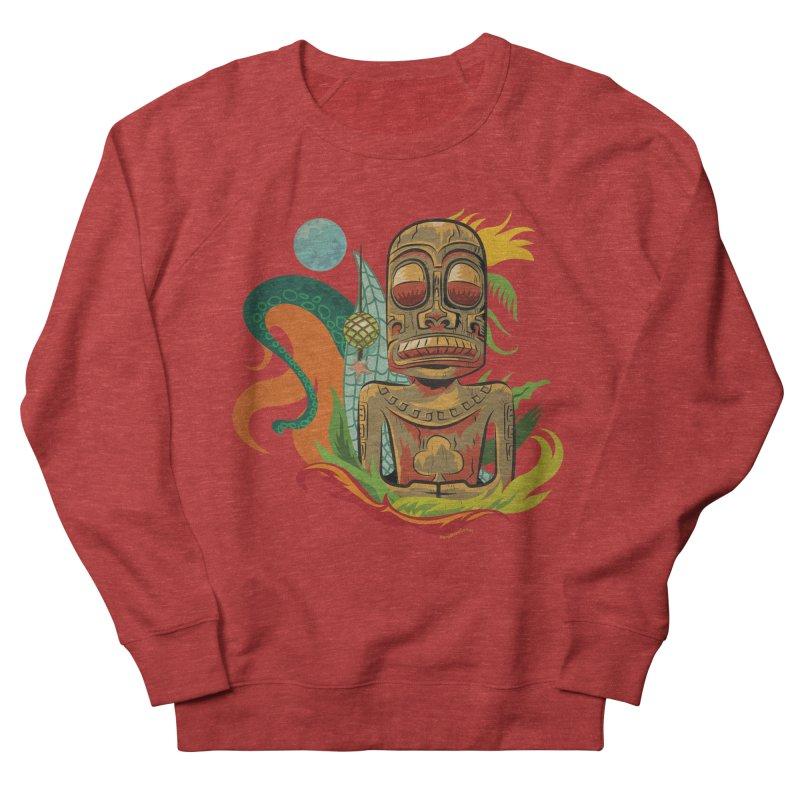 Tikilandia Jack of Clubs Women's French Terry Sweatshirt by Zerostreet's Artist Shop