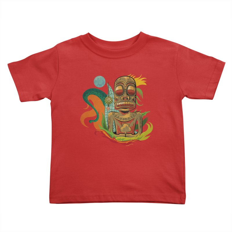 Tikilandia Jack of Clubs Kids Toddler T-Shirt by Zerostreet's Artist Shop