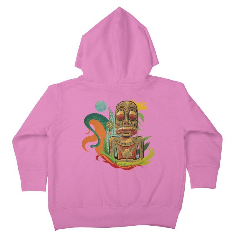 Tikilandia Jack of Clubs Kids Toddler Zip-Up Hoody by Zerostreet's Artist Shop