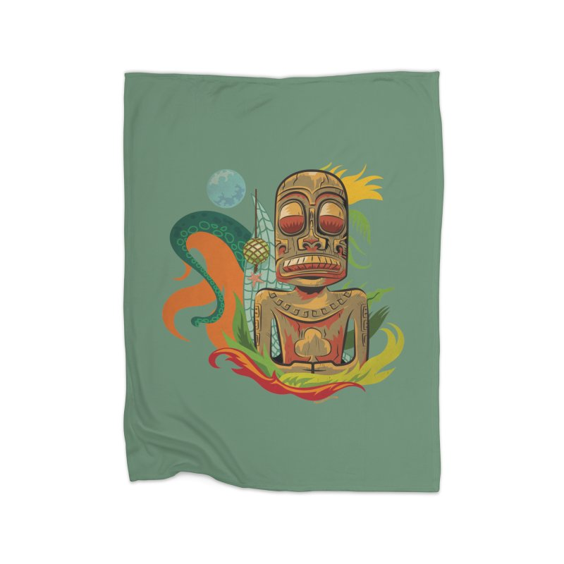 Tikilandia Jack of Clubs Home Blanket by Zerostreet's Artist Shop
