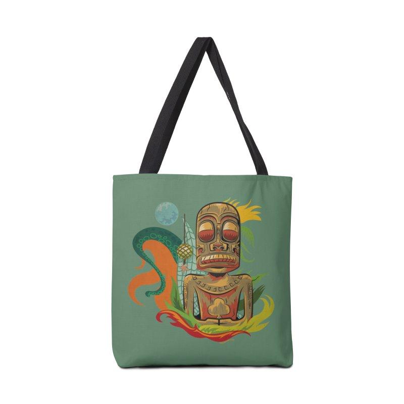Tikilandia Jack of Clubs Accessories Bag by Zerostreet's Artist Shop